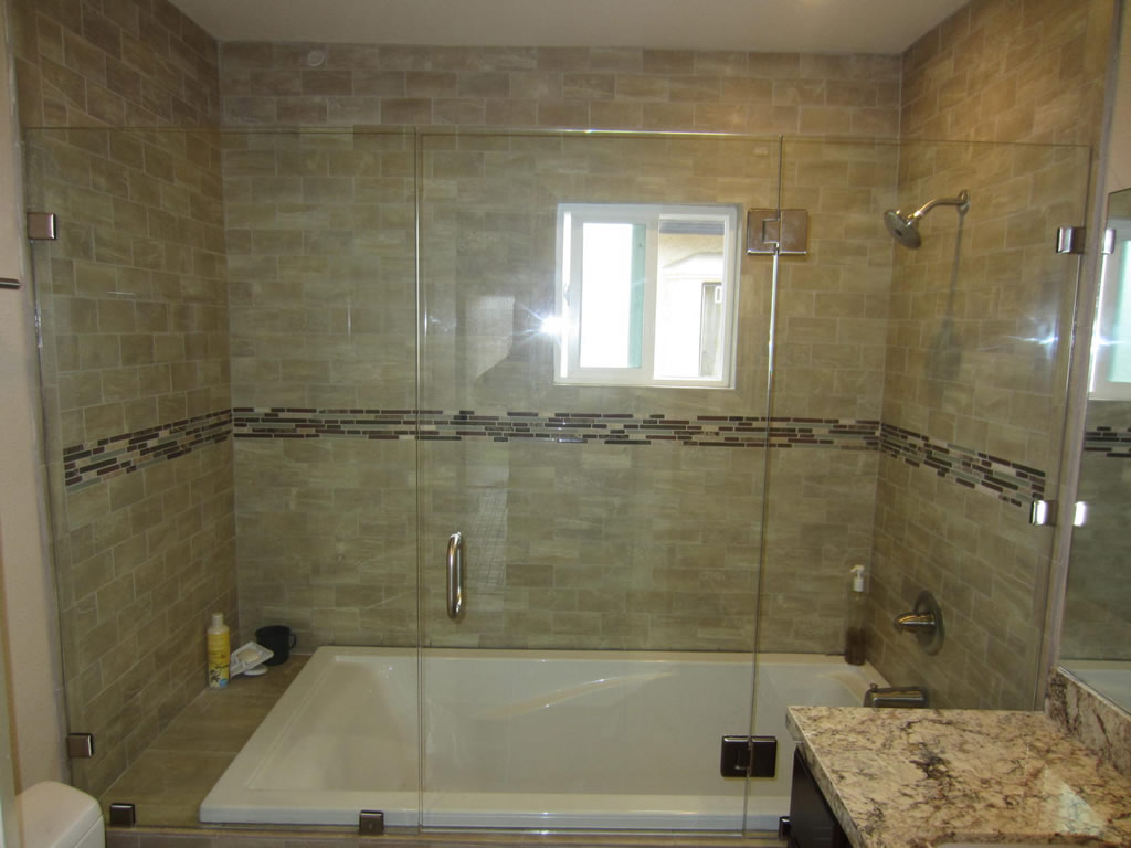 Sliding Shower Door Alternative Patriot Glass And Mirror