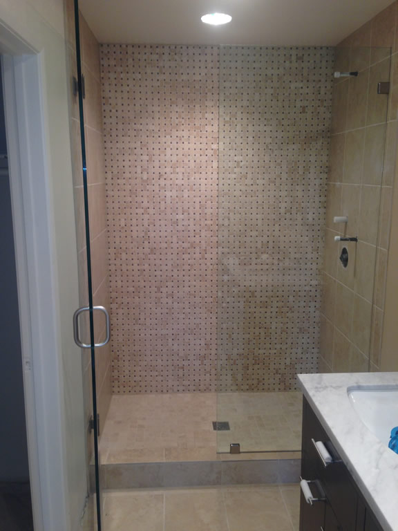 12 inch glass shower enclosure little italy san diego