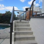 Glass Railing System Steps