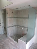 Rancho Santa Fe Glass Shower Enclosure