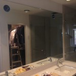 Vanity Mirror With Lighting Cutouts