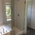 "3/8"" Glass Shower Enclosure Installation"