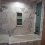 Before Bathtub Frameless Glass Enclosure