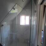 Craftsmen Home Frameless Shower Install