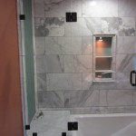 Custom Tub And Shower Glass Enclosure