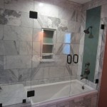 Frameless Tub Shower Enclosure North Park