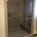 3/8 Inch Glass Frameless Shower Mira Mesa