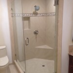 3/8 Inch Glass Shower Enclosure Installation