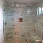 Frameless Glass Shower Enclosure San Diego