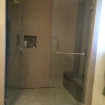 Mira Mesa Shower Glass Installation