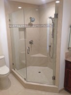 Rancho Santa Fe Glass Shower Enclosure Installation