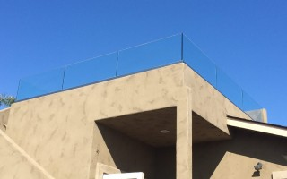 Rooftop Deck Railing Installation Point Loma