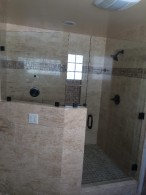 San Diego Custom Frameless Enclosure Install