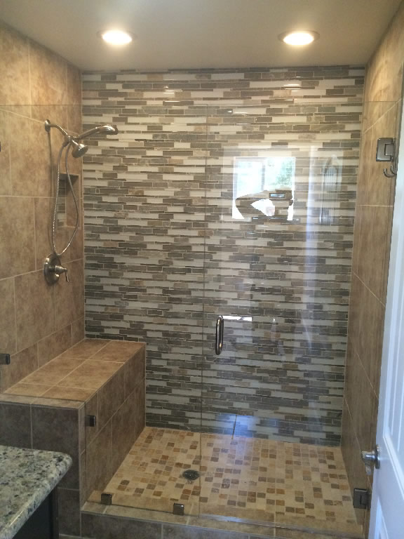 Wonderful Custom Glass Shower Enclosure