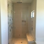 San Diego Steam Shower Frameles3/8 Inch Glass Installation