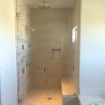 San Diego Steam Shower Frameless Glass Installation