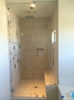 San Diego Steam Shower With Vent Chrome