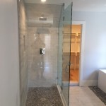 90 Degree Shower Glass