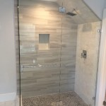 Angled Wall Custom Glass Enclosure