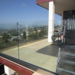 Tempered Glass Balcony Railing Point Loma