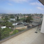 Tempered Glass Railing Point Loma