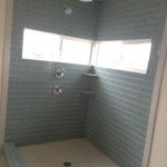 Before Glass Shower Enclosure Installation