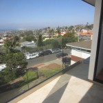 Glass Balcony Railing San Diego View