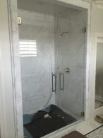 Half Inch Frameless Ultra Clear Double Door