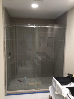 Custom 3/8 Glass Sliding Shower Doors Downtown San Diego