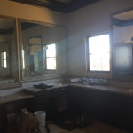 Custom Mirrors Set And Tile Frames Installation