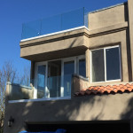 Residential Balcony Glass Railing Installation