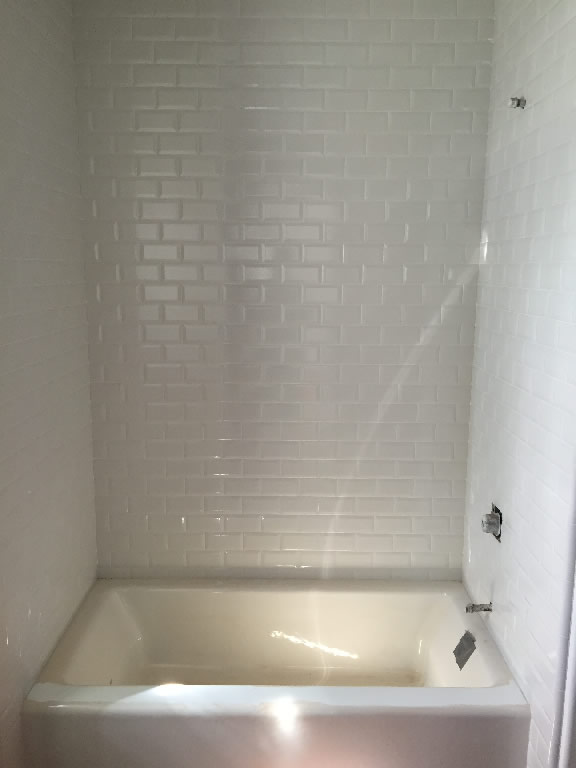 Glass Shower Doors Over Tub tub enclosure with door - patriot glass and mirror | san diego ca
