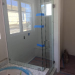 Solana Beach Half Inch Shower Enclosure Install