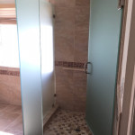 Frosted Privacy Glass Shower Enclosure