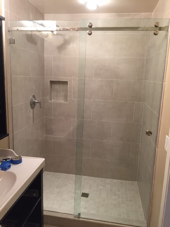 Sliding Glass Shower Doors Patriot Glass And Mirror San Diego Ca