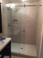 Sliding Shower Enclosure