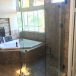 Glass Shower Enclosure Installed
