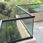 Rounded Top Rail Balconing Railing