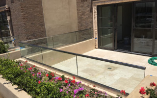 Glass And Stainless Railing La Jolla