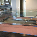Glass Railing Install Point Loma