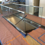 Half Inch Glass Railing Install Point Loma