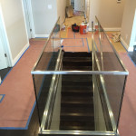 Half Inch Tempered Glass Railing Install Point Loma