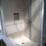 Before New Shower Glass Installation