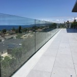 Glass Railing 110 Feet Installed Point Loma