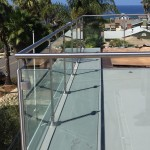 Custom Design And Install Glass Railing