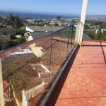 Glass Railing With Aluminum Base Shoe San Diego