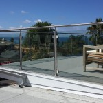 Half Inch Tempered Glass Railing California