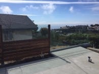 La Jolla Glass Railing Installation