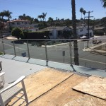 Modern Style Glass Railing California