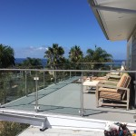 Tempered Glass Railing Design California